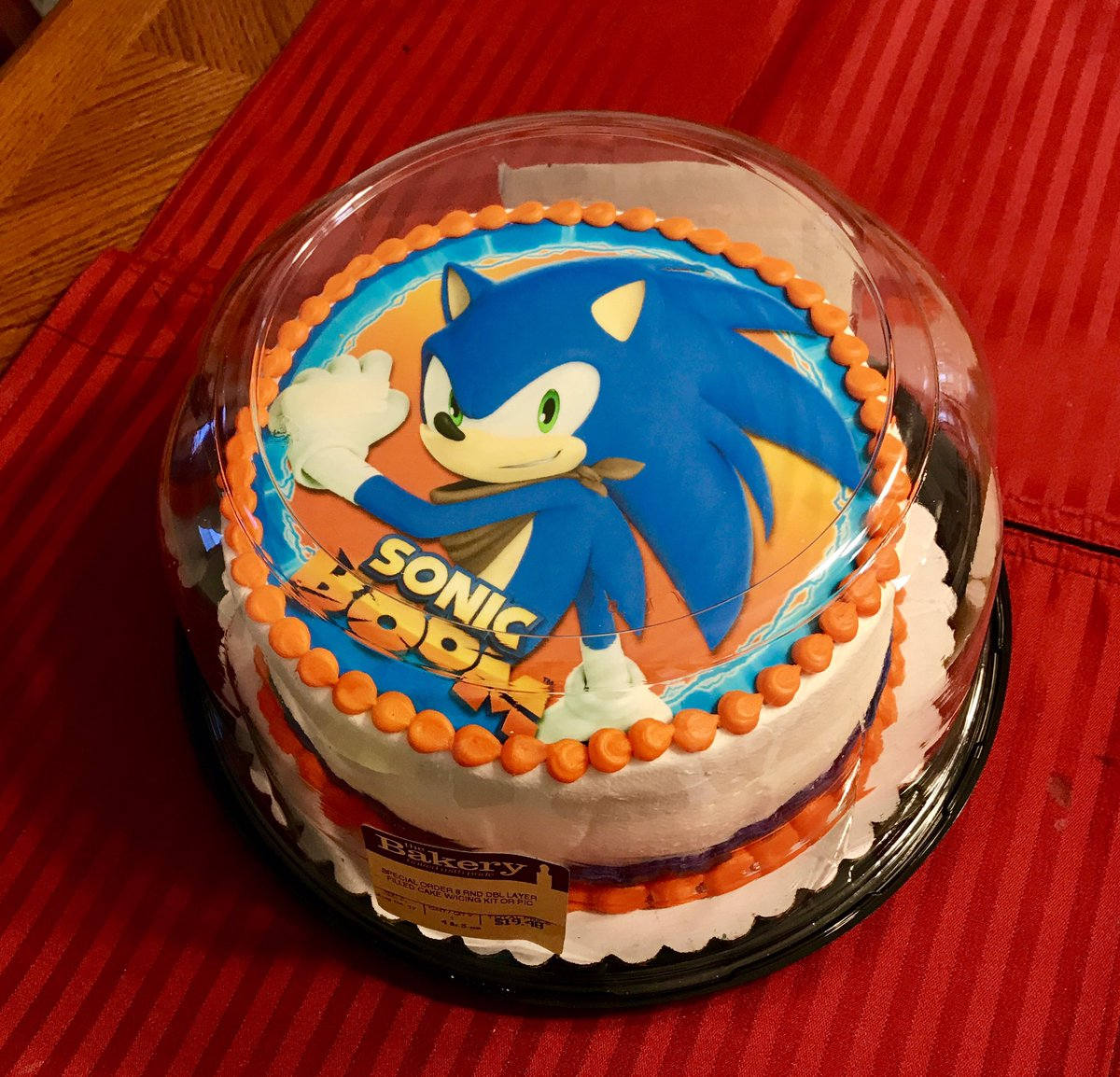 Sonic Birthday Cake Walmart | thepiercingstudio