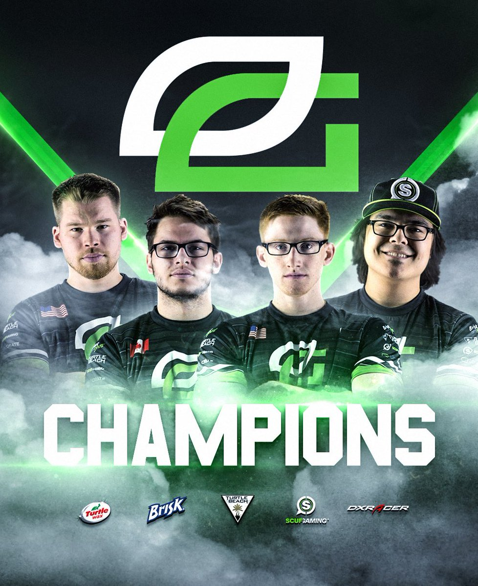 CHAMPIONS!  We dedicate this victory to all members of the #GREENWALL