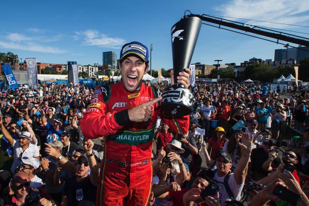 2017 FIA FORMULA E WORLD CHAMPION