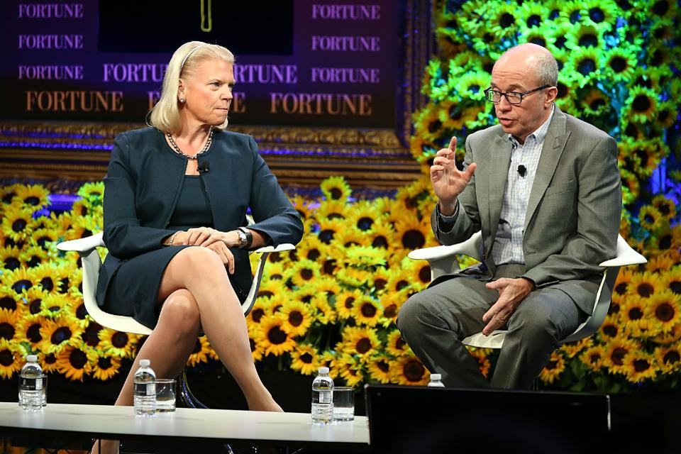 IBM beats Amazon in 12-month cloud revenue, $15.1 billion to $14.5 billion: