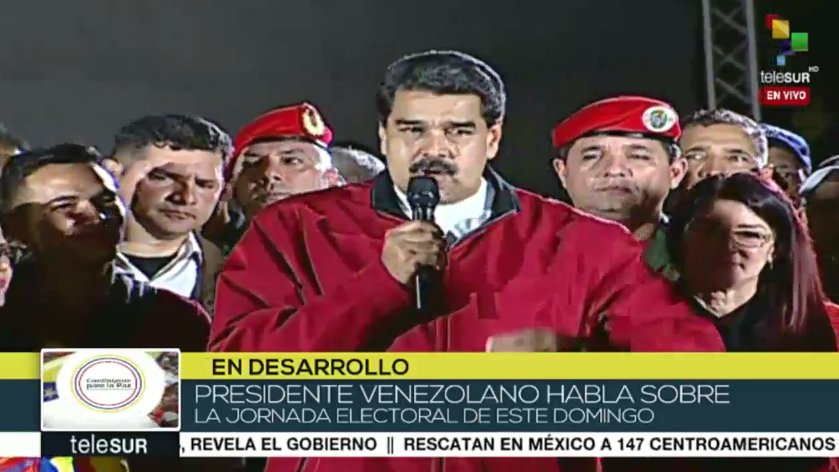 #LIVE | President @NicolasMaduro: This election marks a new beginning for the independence of Latin-America #Venezuela https://t.co/uLcMnfA1GX