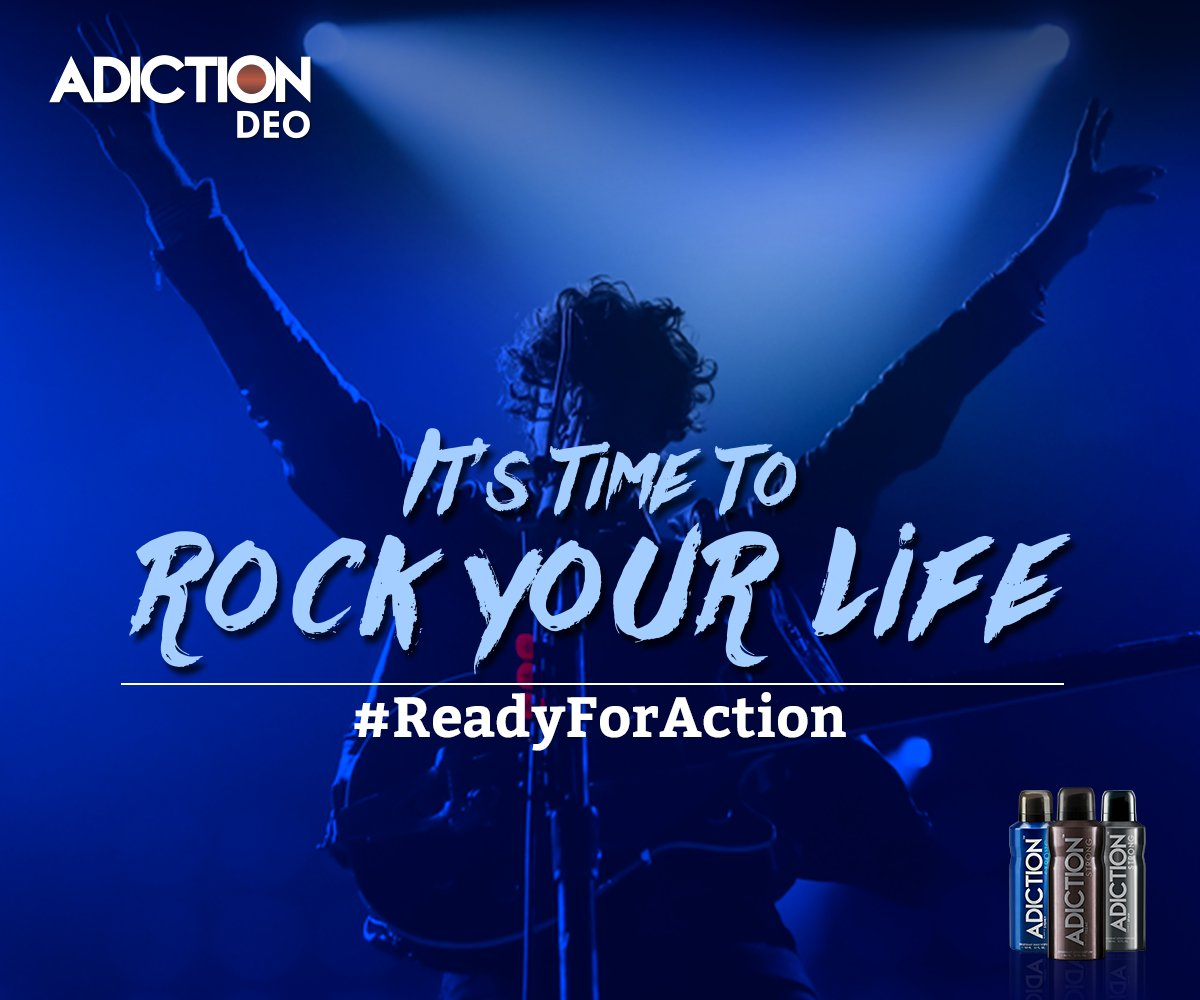 Make the world sway to your tunes. #ReadyForAction https://t.co/wCA5mji0kW