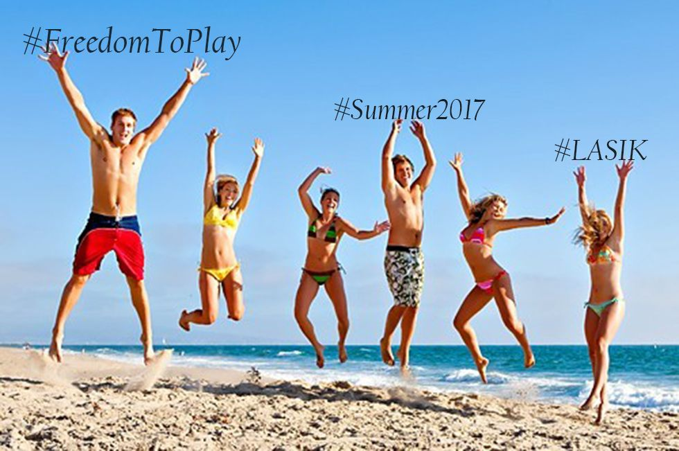 Have the #FreedomToPlay without Vision Aids #Summer2017 with #LASIK Find out more with this #Mythbuster  http:// buff.ly/2ubR2o5  &nbsp;  <br>http://pic.twitter.com/bie25poLOH