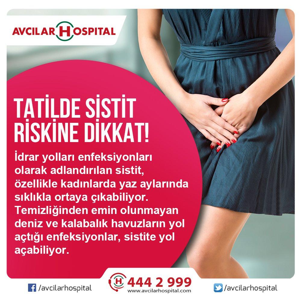 Kadınlarda sistit. Hastalık ve tedavinin önlenmesi