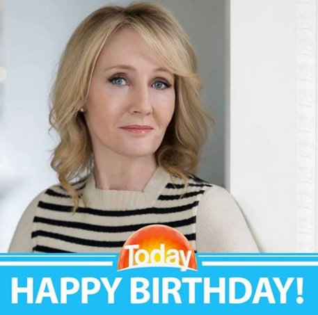 Happy Birthday to every Harry Potter fan\s favourite Muggle, J.K. Rowling!