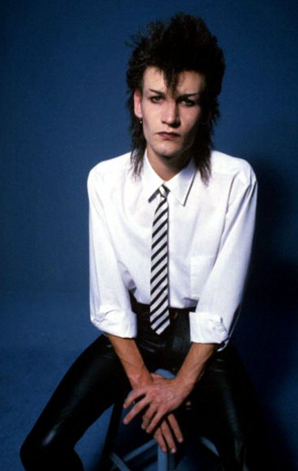Happy birthday Daniel Ash of Bauhaus, Love And Rockets, Tones On Tail and Poptone