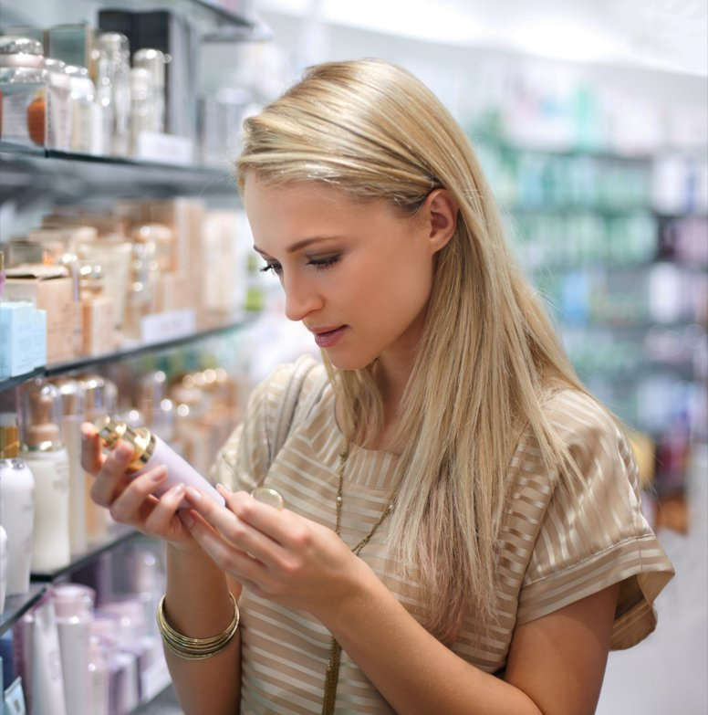 Checking For Beauty Product Exp. Date
