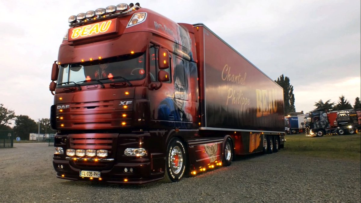 Happy 37th Birthday To The Boy Who Lived A Tribute Series This DAF XF Comes From Beau Transport HappyBirthdayHarryPotterpictwitter
