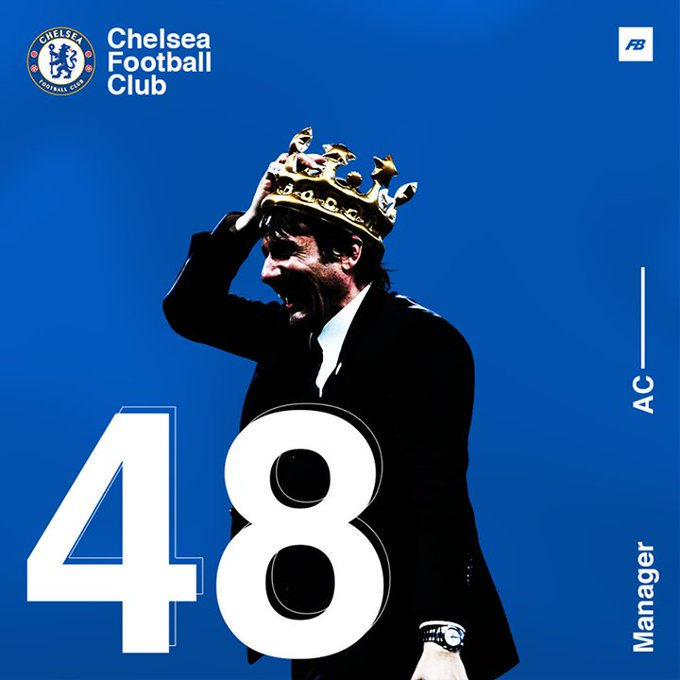 Happy 48th birthday to Chelsea Football Club\s title winning manager Antonio Conte!