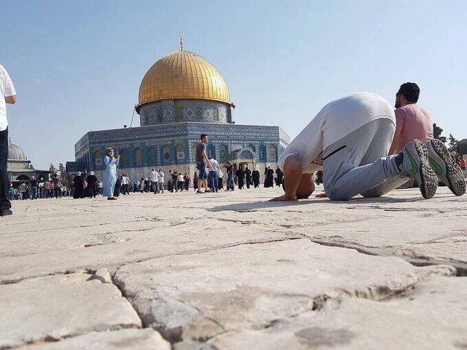 ... ومسرى النبي ﷺ ومعراجه وبها صلى إماما بالأنبياء ليلة الإسراء والمعراج