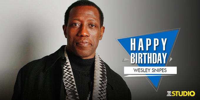 Here\s wishing Wesley Snipes popularly known as \Blade\, a very happy birthday! Send in your wishes.