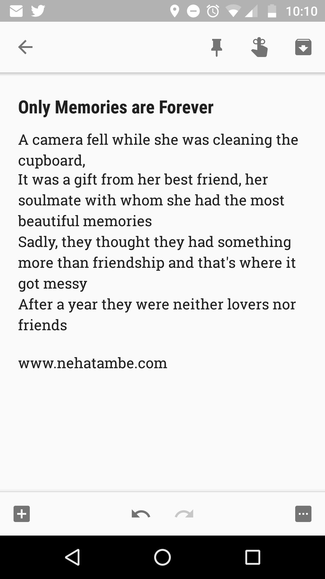 #Tiniature #amwriting #BeingAuthor #story  #microfiction #flashfiction #FridayFiction @VeryShortStory @gayatri_gadre @Ishieta https://t.co/hIKm973QBD