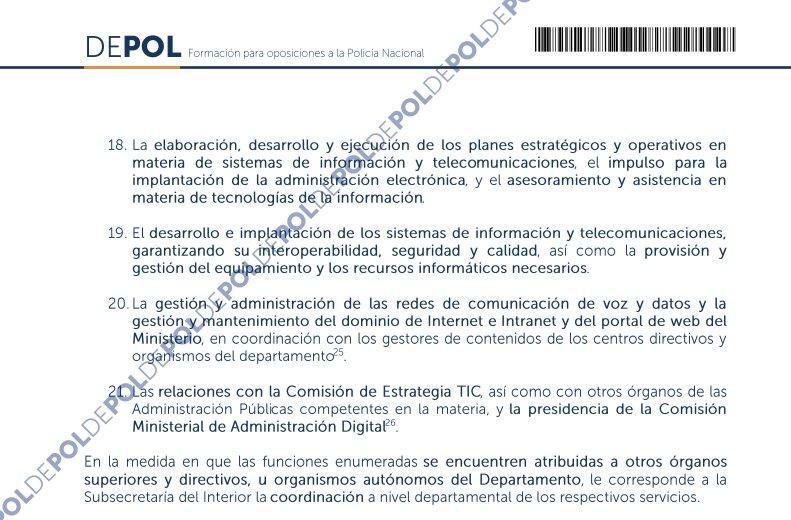Academia Depol On Twitter Organigrama De La Secretaría De