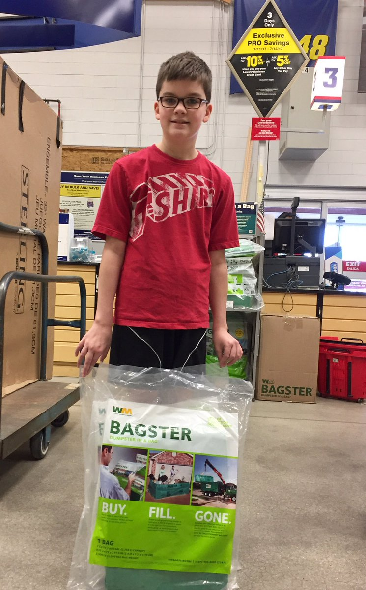 Bagster pick up coupon codes