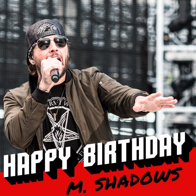 Loudwire: Happy 36th birthday to TheOfficialA7X\s M. Shadows!