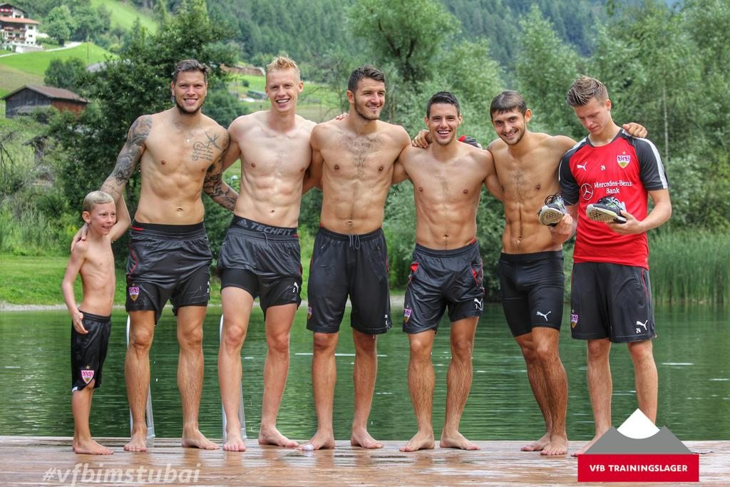 Jungs mit sixpack