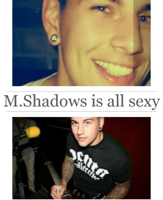 Happy bday to the sexy frontman of AvengedSevenfold.   M.Shadows  ...