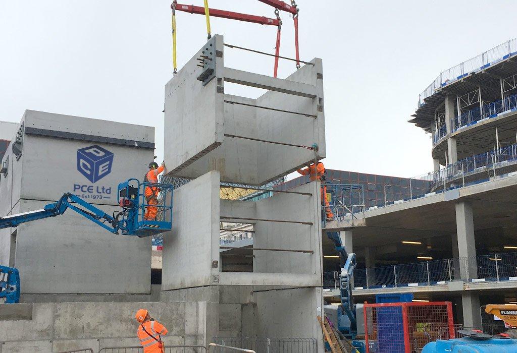Preformed Concrete Building Construction : Pce hybrid on twitter quot paradise birmingham construction