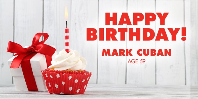 Happy Birthday, Mark Cuban! The billionaire entrepreneur turns 59 today.