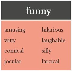 Base Insute On Twitter Do You Know Any Other Synonyms For Funny English Funcles Comehavefun