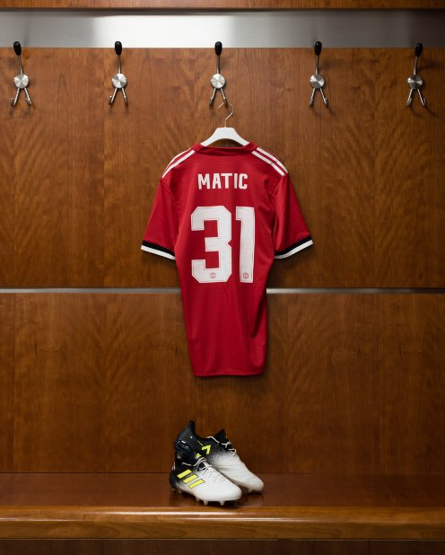A beast in midfield. Nemanja Matic is a red. 🔴 #ACE17 #HereToCreate