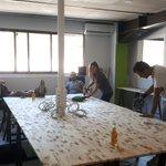 Image for the Tweet beginning: Les nouveaux bureaux sont terminés