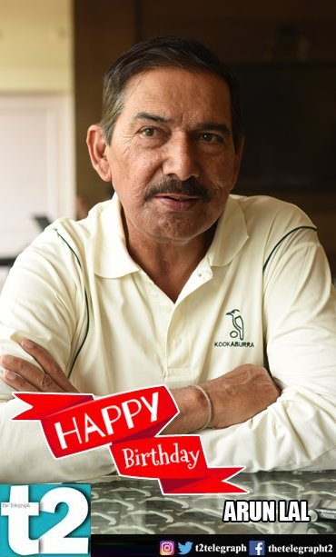 Here\s wishing you a very happy and healthy year! Happy Birthday, Arun Lal!
