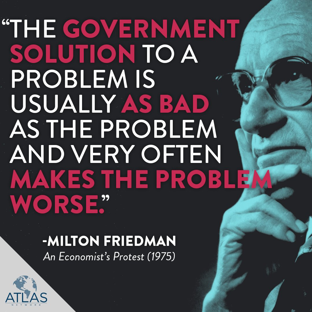 #HappyBirthday to one of the greatest minds in the cause of freedom: #MiltonFriedman. #Freemarkets #Freeminds https://t.co/3xAbjABtoU