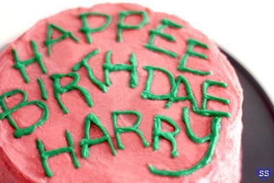 Happy Birthday Harry and J K Rowling!