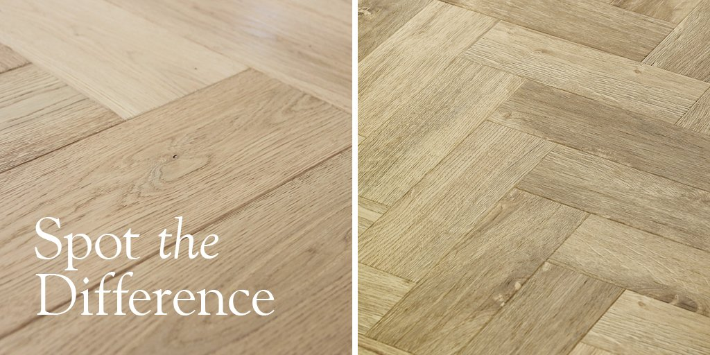 Real Wood vs Luxury Vinyl Tile - can you tell the difference? #ChooseAmtico