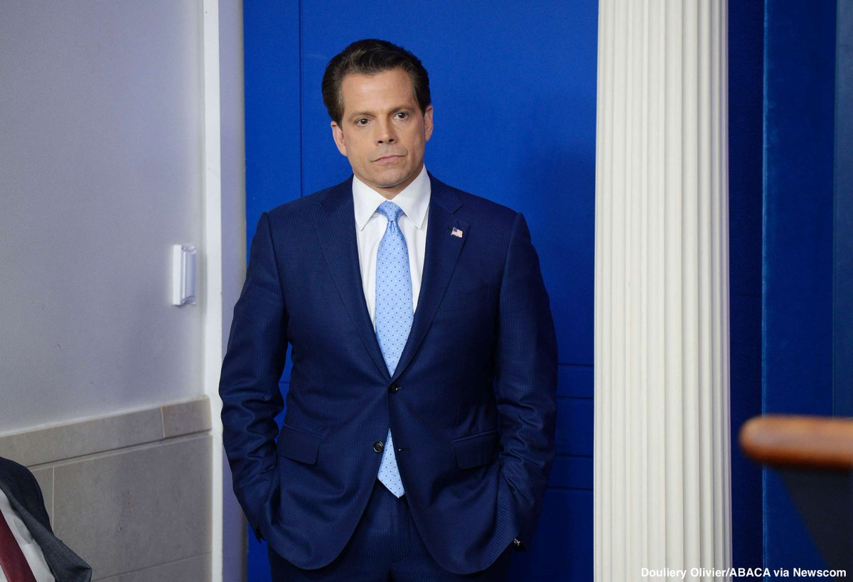 """abc news on twitter: """"breaking: anthony scaramucci out as white"""