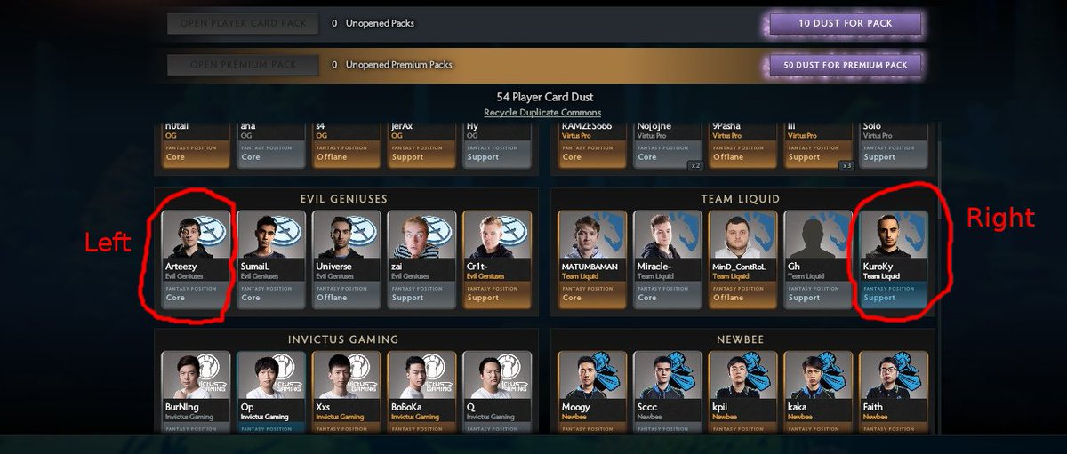 Reddit Dota 2 On Twitter Valve Hid A Meme In The Player Cards