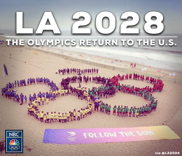 Los Angeles agrees to host 2028 Olympics...