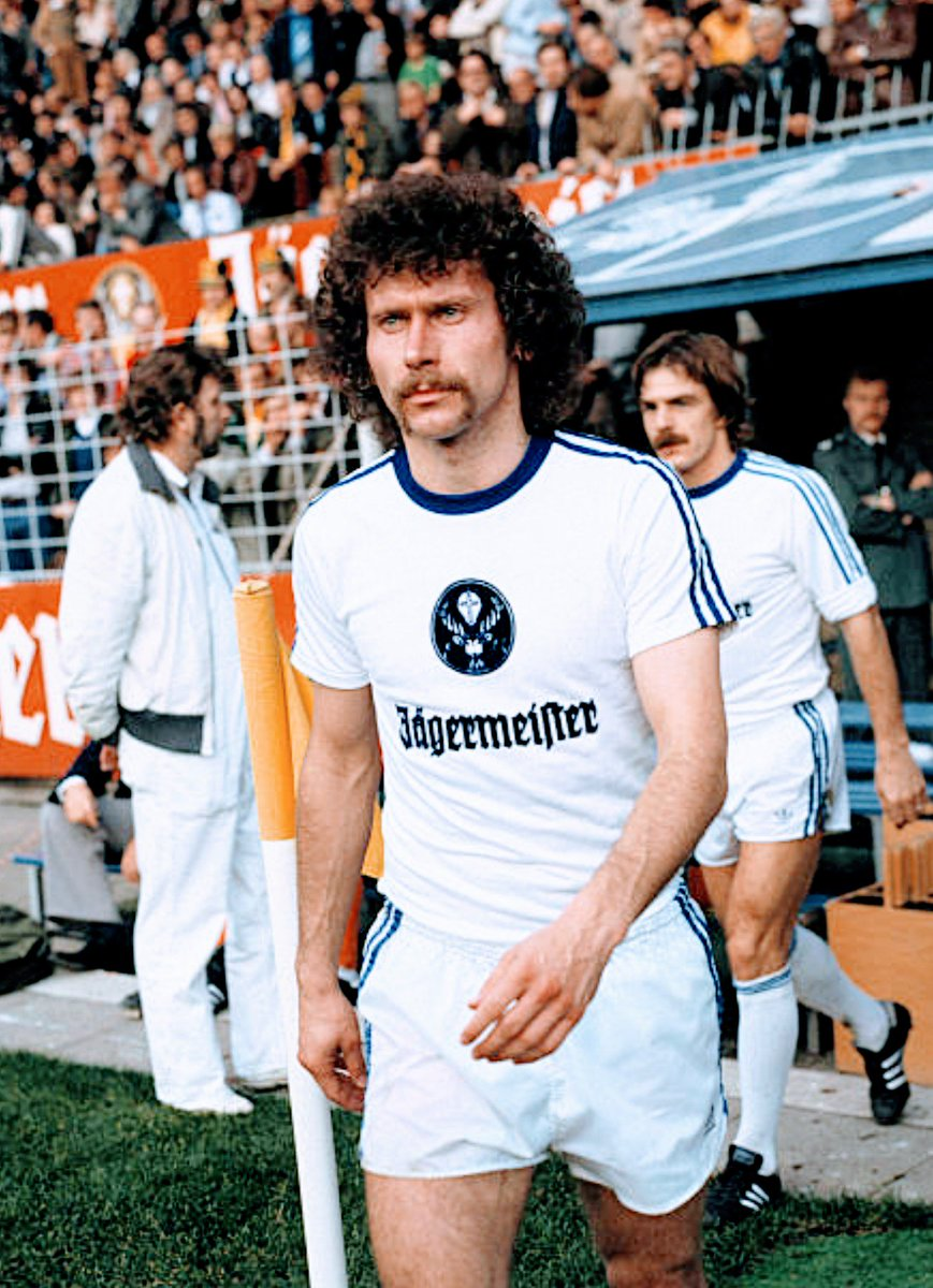 "MotherSoccer on Twitter ""Entrance of Paul Breitner Eintracht"