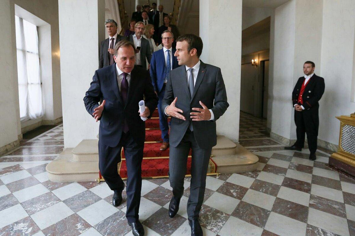 La France et la Suède vont lancer un partenariat pour l'innovation dan...