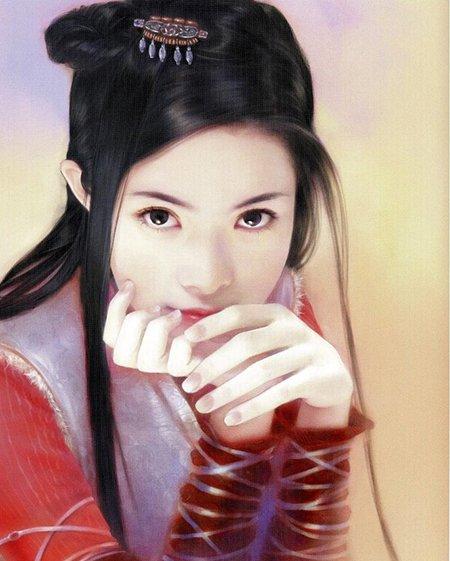 ネギ速管理人 On Twitter 画像あり中国の美人画の女の子