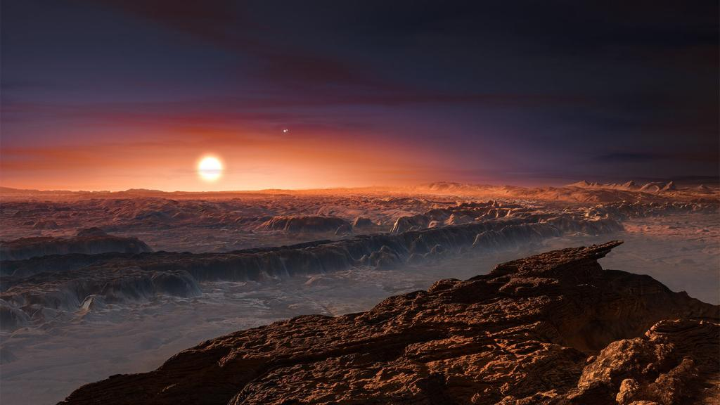 Proxima b, an Earth-size planet in the habitable zone of its star, may not be able to keep a grip on its atmosphere: https://t.co/Nt15Hjgdot