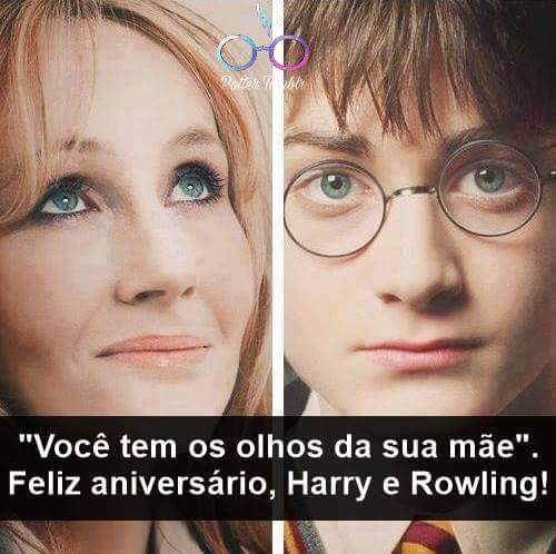 Happy Birthday Harry, J.K Rowling