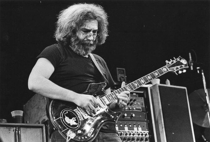 Happy Birthday to the psychedelic King, Jerry Garcia!