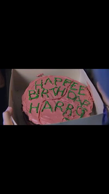 Wishing a happy birthday to J.K. Rowling and Harry Potter.