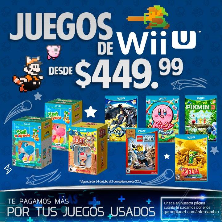 Gameplanet On Twitter Disfruta De Los Mejores Juegos De Wii U A