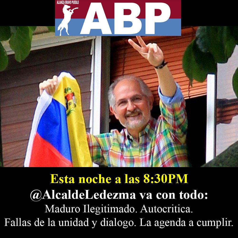 Mitxy. Aquí tienen el mensaje de Antonio a Venezuela y a la comunidad internacional. https://t.co/EA3UHrASzI