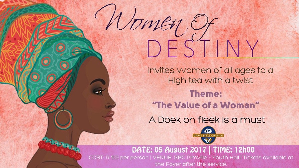 Mosa sono on twitter dont forget our women of destiny this mosa sono on twitter dont forget our women of destiny this saturday 5 aug 2017 at gbc pimville tickets deadline is friday 4 aug stopboris Image collections
