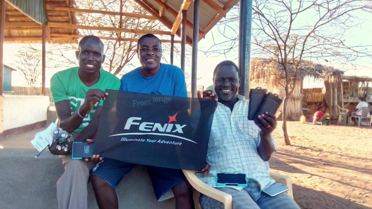 Fenix Lighting helps African village. Having only 1 lightbulb in Turkana, villagers now have rechargeable Fenix lights. #SeeWhatMatters <br>http://pic.twitter.com/2WL79zPKTJ