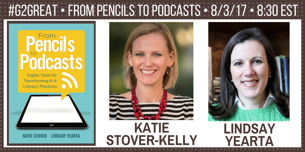 Welcome to #G2Great! @brennanamy @DrMaryHoward and I are so happy to welcome @ktkelly14 & @LYearta to join this dynamic PLN! https://t.co/huuKJ1XVPL