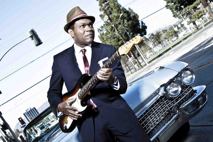 Happy Birthday to Robert Cray, who turns 64 today!