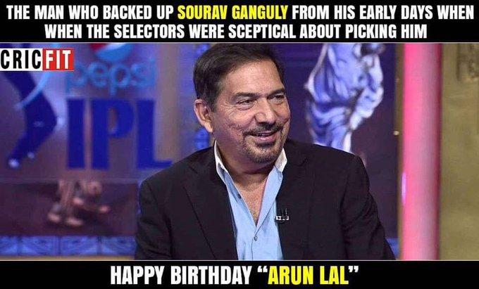 Happy Birthday Arun Lal!