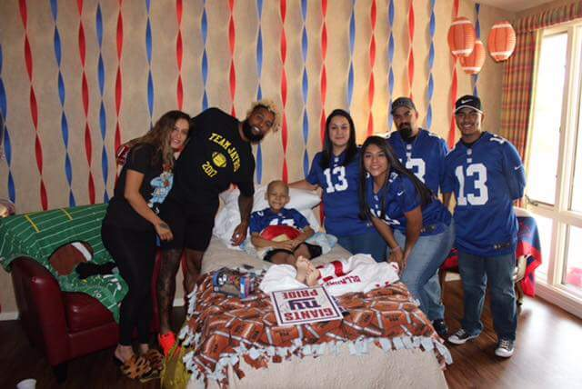 NY Giants Fans Unite On Twitter RIP Jayro Ponce You Fought Valiantly Against Cancer And Are A True Blue Warrior Tco MXP323Y5yp