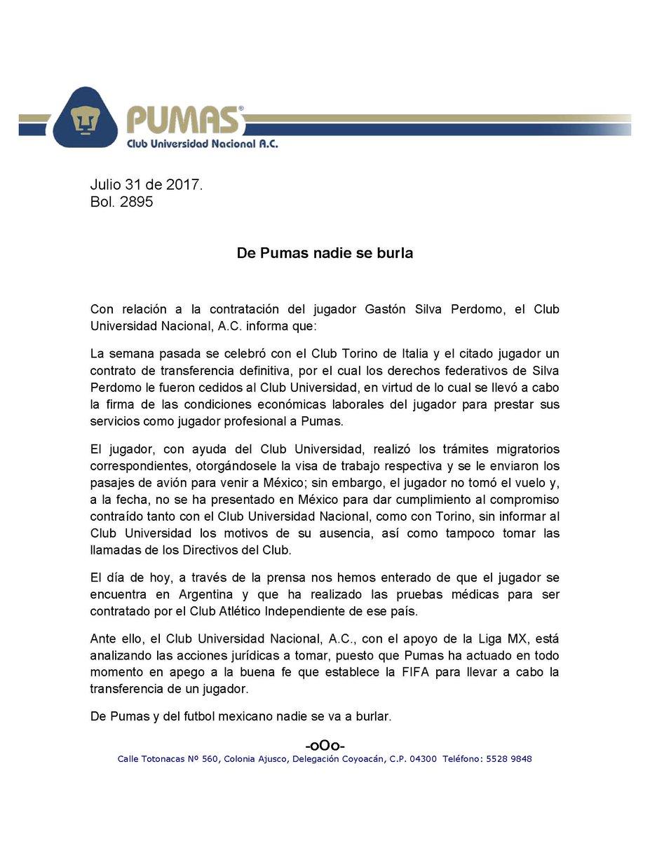 De Pumas nadie se burla. #SoyDePumas https://t.co/zwQ07L91na