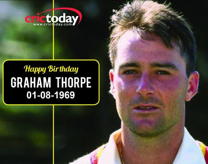 Happy Birthday Graham Thorpe
